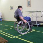 Зал по обучению пользованию креслом-коляской